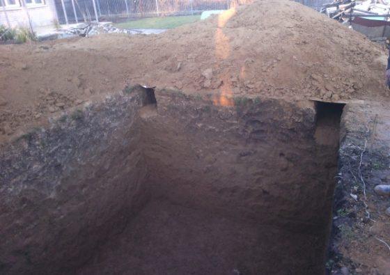 Вырыть Сливную яму